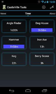 castleville timer app