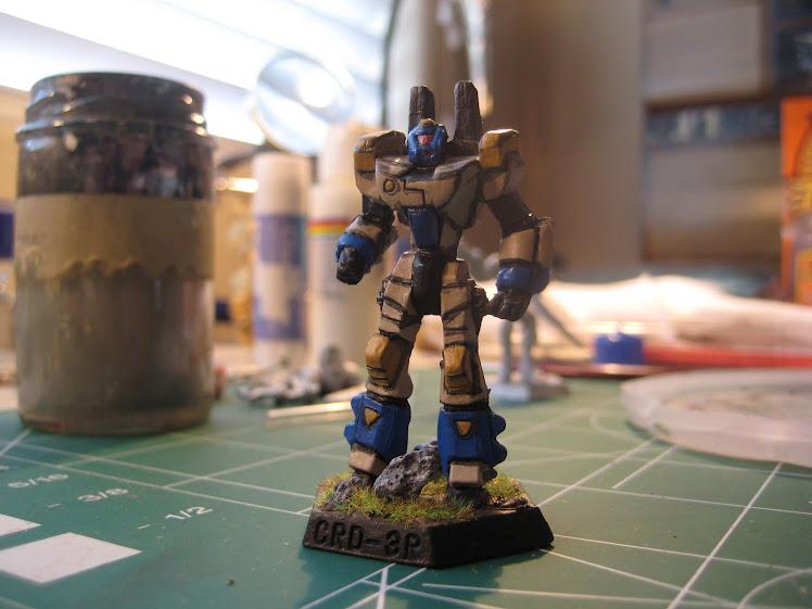 Crusader (plastic) Battlemech