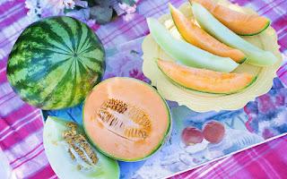 Bajar de peso naturalmente con la fruta melón
