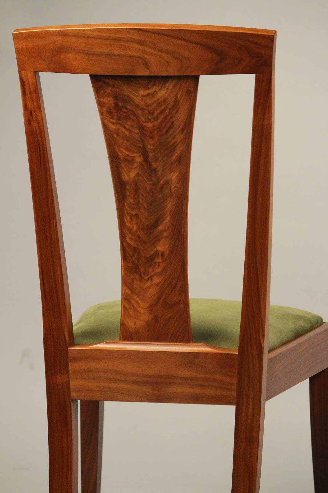 handmade hardwood chair