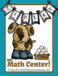 Fern Smith's FREE Winter Kids Addition Center and Interactive Notebook Activity!