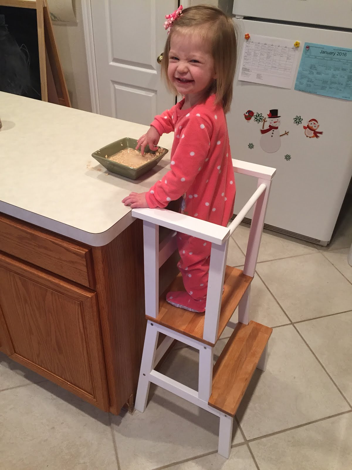 Polka Dotted Mama Ikea Step Stool Quot Hack Quot For Toddlers