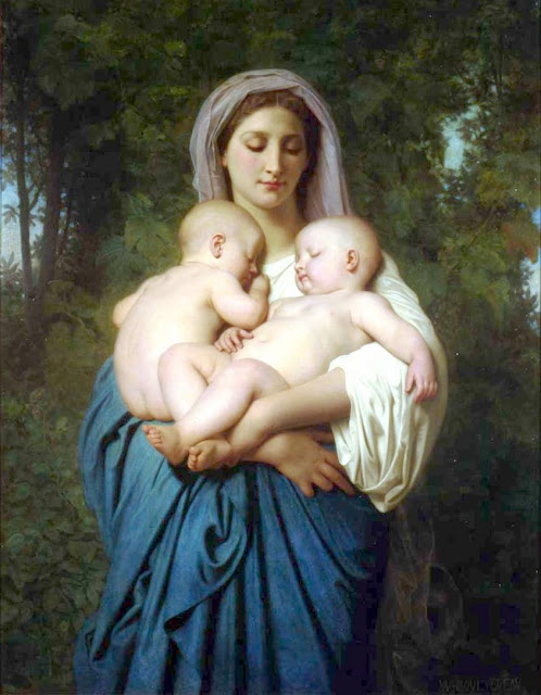 charity,babies,William Adolphe Bouguereau