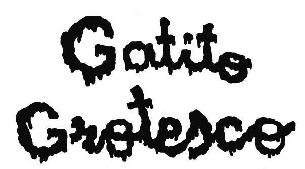 gatito grotesco