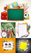 Back to SchoolVectors. Labels: back to school art (back to school )