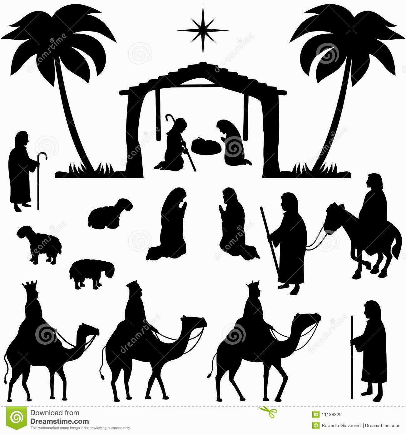 The gallery for gt nativity star silhouette png