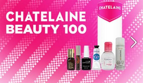Topbox Chatelaine Prestige Beauty Box Giveaway