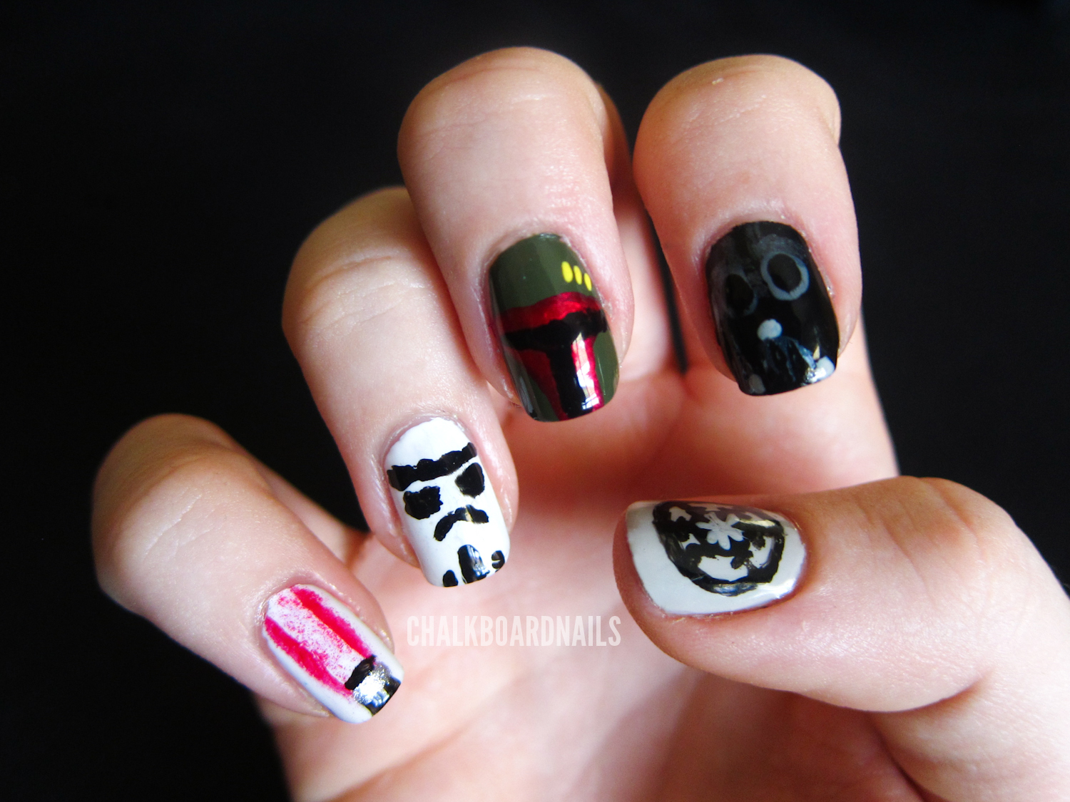31 Day Challenge, Day 23: Inspired by a Movie | Chalkboard Nails ...