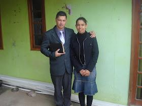 PB. MARIO E SUA ESPOSA CLAUDIA DE FAZENDA R. GRANDE/ ESTÃO EM SAN PATRICIO.