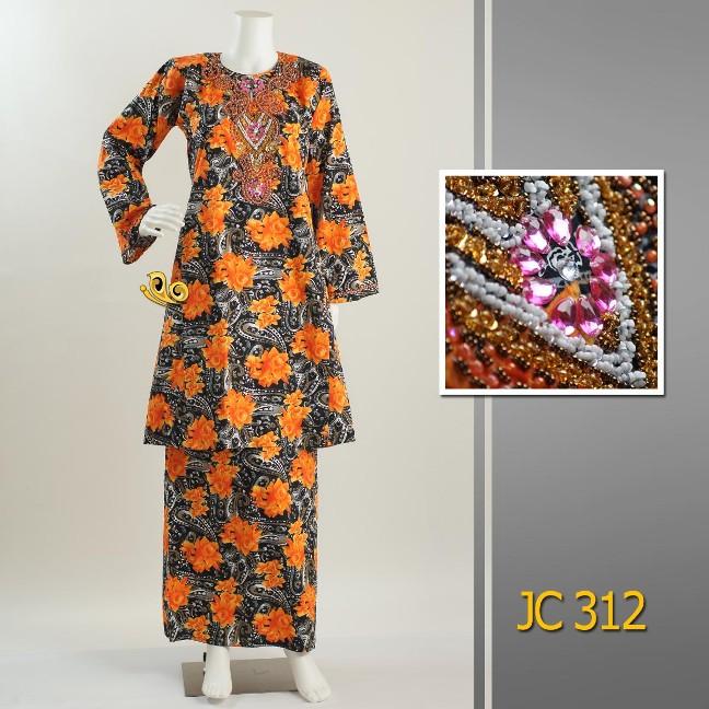 Baju Kurung Cotton Manik Exclusive Zety