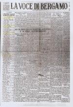 """""""LA VOCE DI BERGAMO"""" 10 GIUGNO 1925"""
