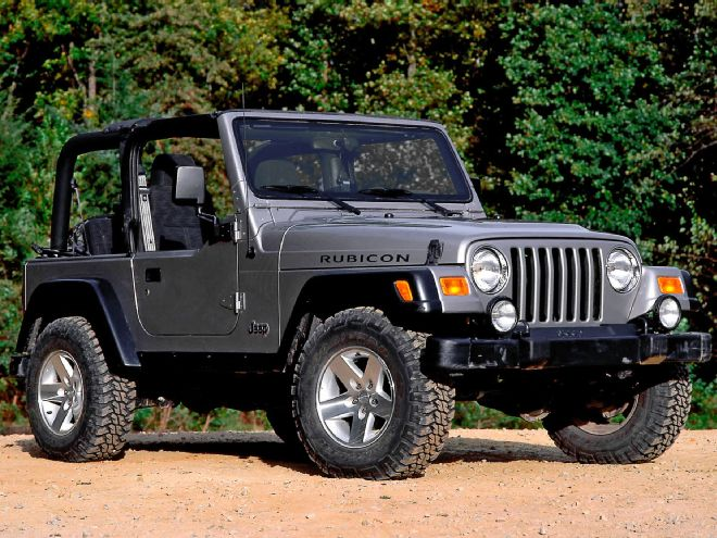 Jeep Wrangler JK: General Information About Lifting Your