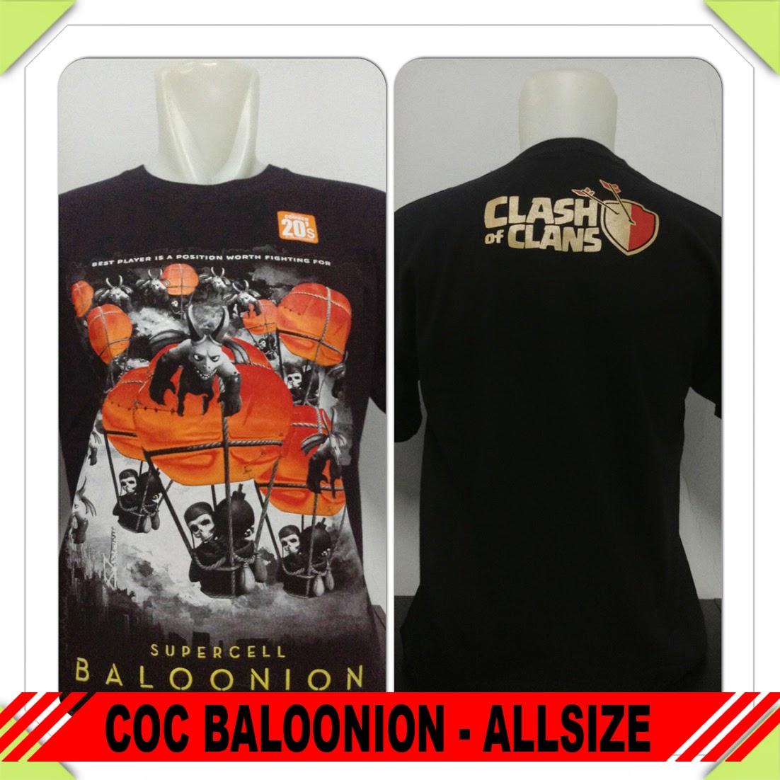 Baju COC Baloon