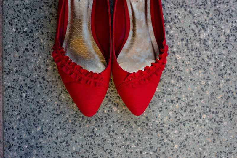 If Your Color Is Red And The Lack Or Other Colors Consider Buying A Pair Of Bridal Shoes