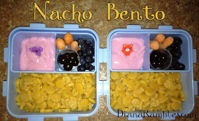 mac cheese bento lunch