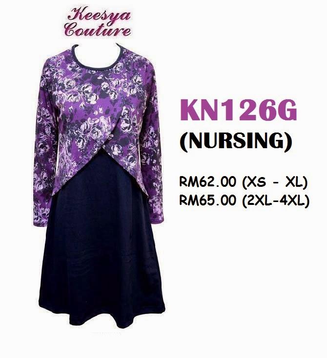 T-shirt-Muslimah-Keesya-KN126G