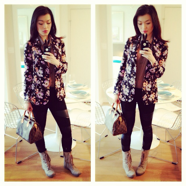 how to wear floral top, how to style florals, vancouver fashion blogger, how to style, how to wear