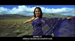 Trisha Krishnan in purple saree