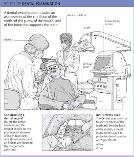 scope of dental examination