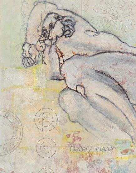 coupling II, detail, gallery juana