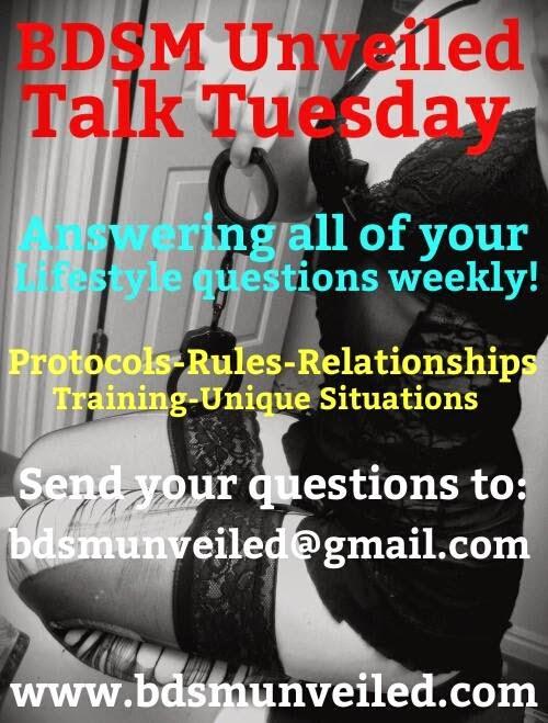 BDSM Relationships Talk Tuesday