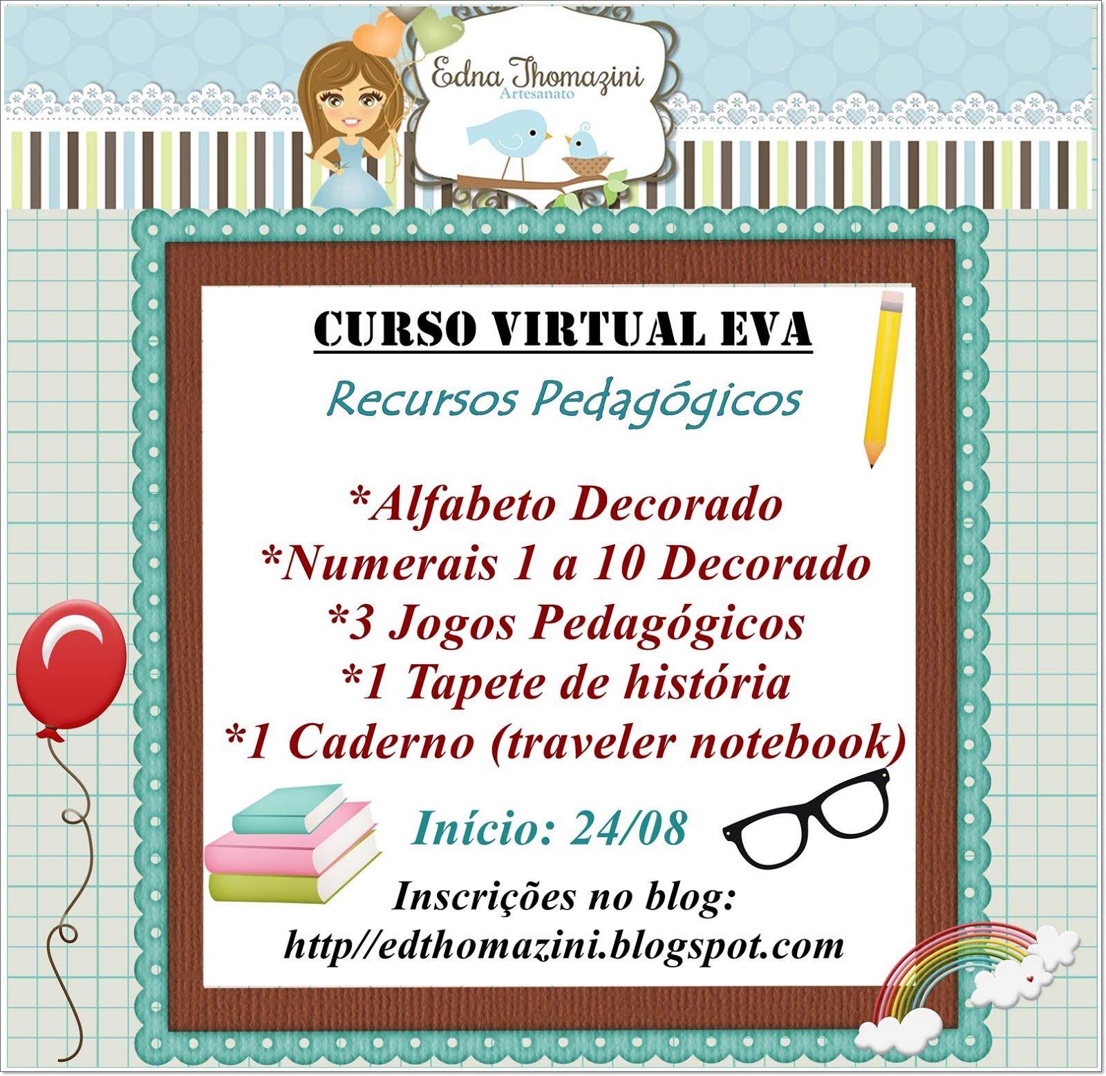 Curso Virtual EVA - Recursos Pedagógicos