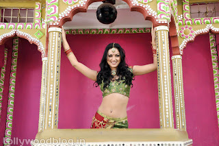 Maryam Zakaria in Sexy Cleavages Hot Choli Lehenga Sexy Navel