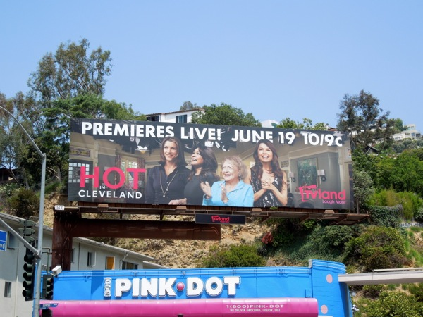 Hot in Cleveland 5 live episode billboard