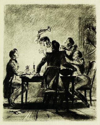 Выстрел рисунок пушкина
