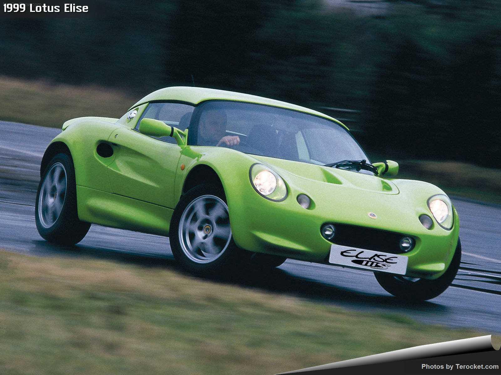 Hình ảnh siêu xe Lotus Elise 1999 & nội ngoại thất