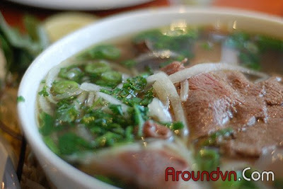 Pho in Hanoi - Top 10 the most delicious dishes in Hanoi - Part 1