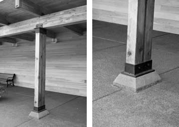 Vg at dise o de uniones en estructuras de madera ii - Dinteles de madera ...