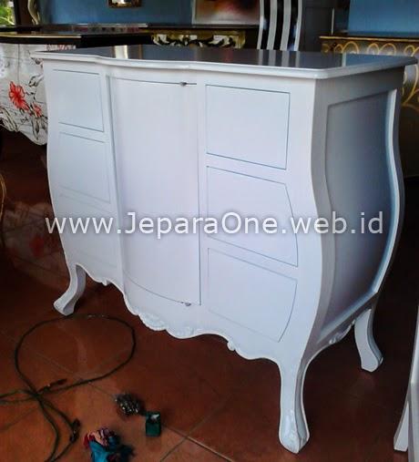 White Elegan - filling cabinet jeparaone