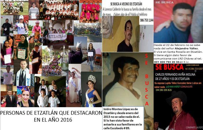 PERSONAS DESTACADAS DE ETZATLÁN 2016