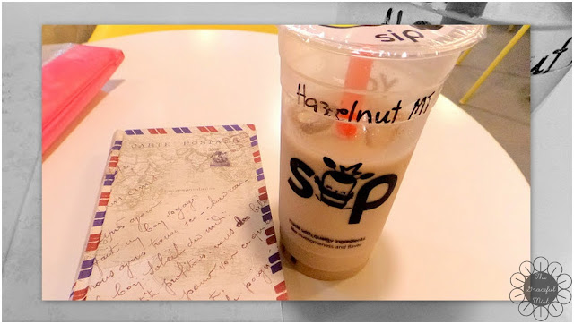 Sip Philippines - Hazelnut Milk Tea Review (www.TheGracefulMist.com)