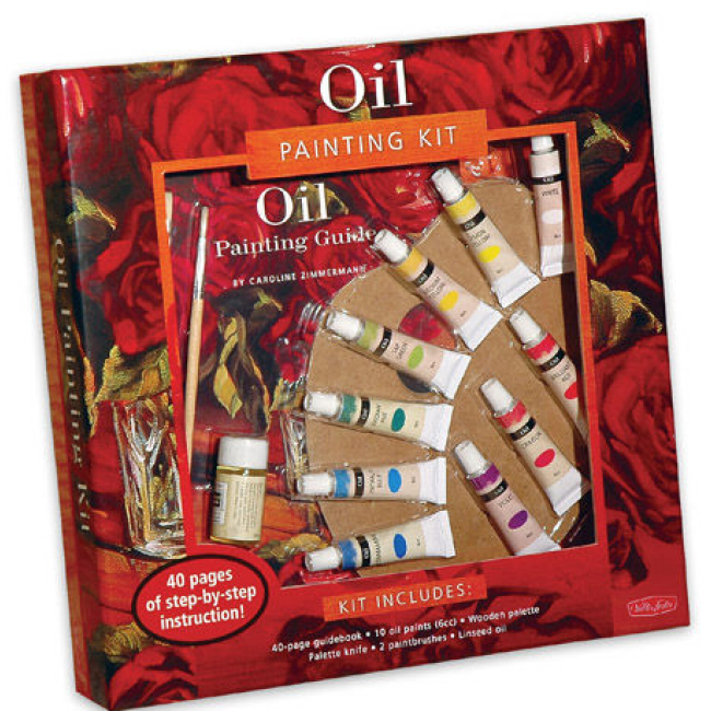 beginner oil painting supplies