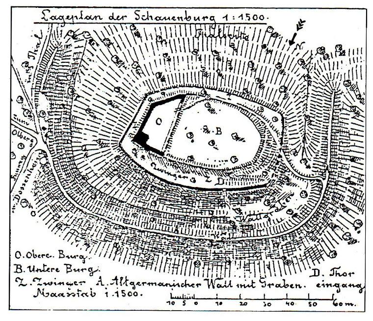 Grundriss von Julius Näher, 1891