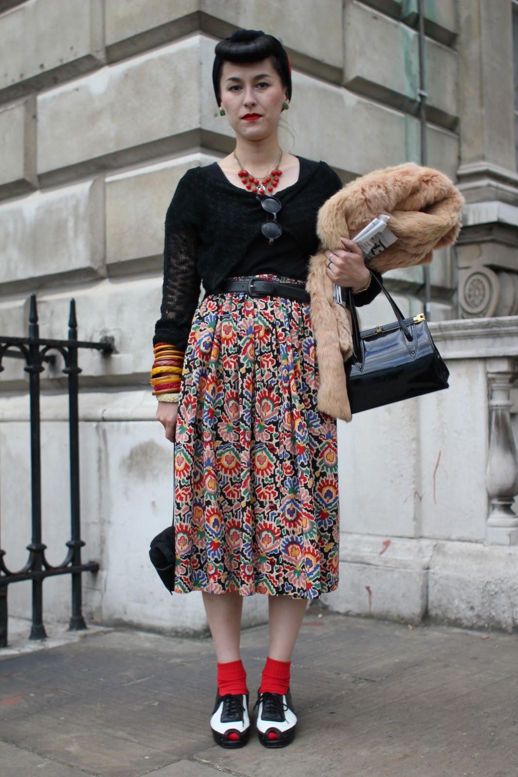 Styleeast London Fashion Week Street Style What Karina Wore