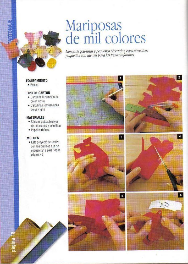 Compartiendo con mis amigas cajas mariposas de mil for De mil colores