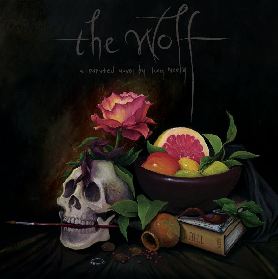 The Wolf is a new graphic novel by Los Angeles-based painter-cartoonist Tom ...
