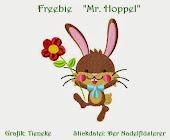 """Freebie """"Mr Hoppel"""""""