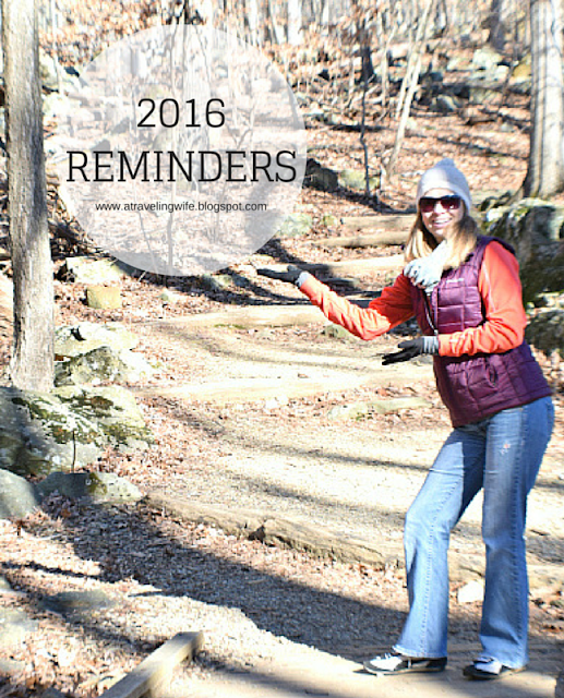 2016 Reminders - New Year's Resolution - 16 reminders to remember throughout the entire year