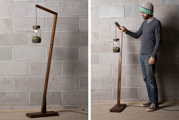 Terrarium floor lamp the collective loop the terrarium floor lamp is a neat and stylish idea and was created by autumn workshop here is their idea put in there own words mozeypictures Gallery