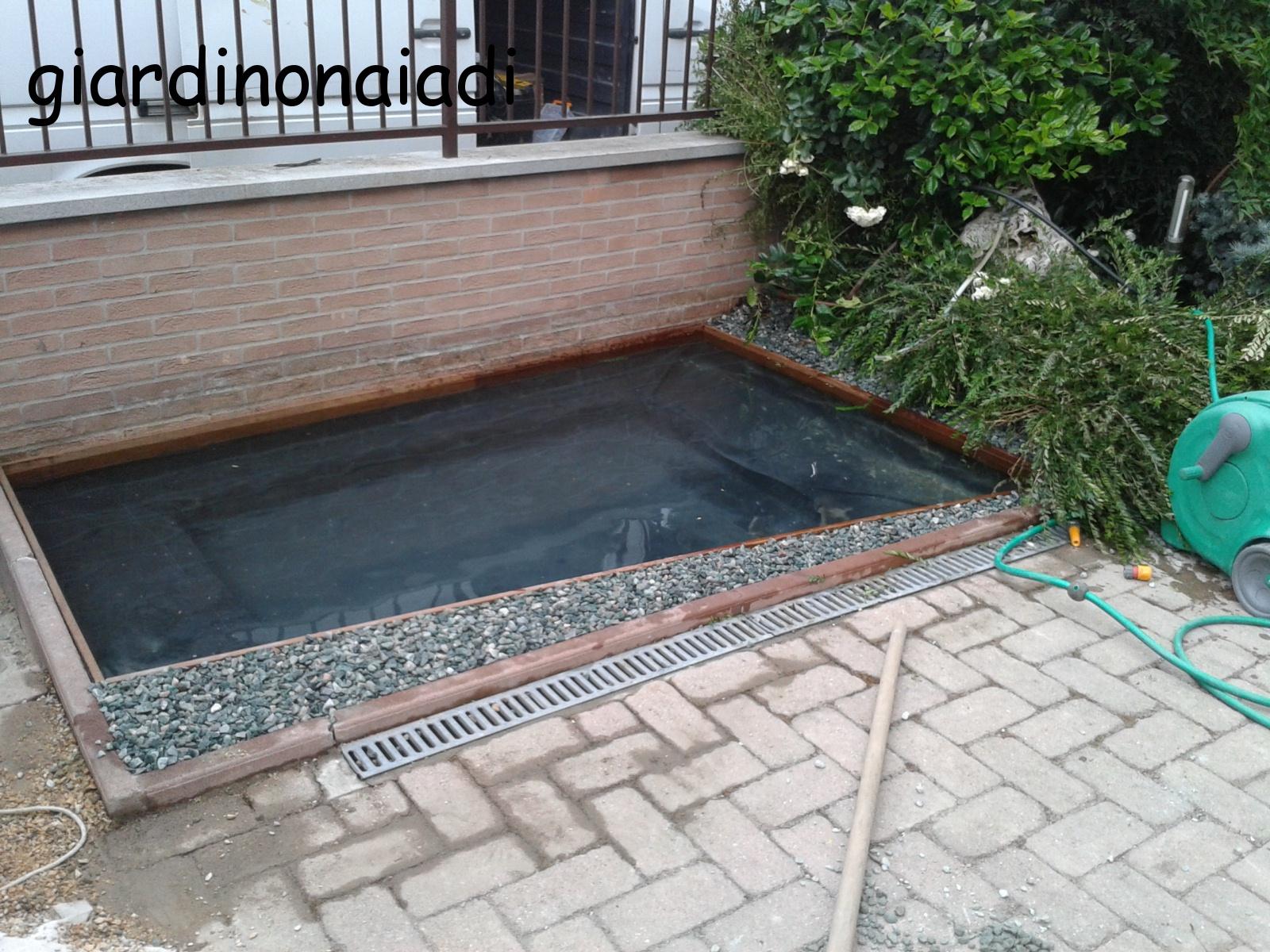 Il giardino delle naiadi un laghetto per morgana - Laghetti da giardino in cemento ...