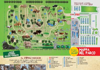 Mappa Safari Ravenna