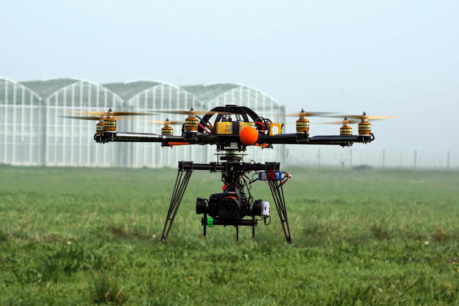 Drone con telerilevamento