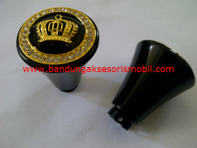 Gear Knob DAD Medium Black+Mahkota