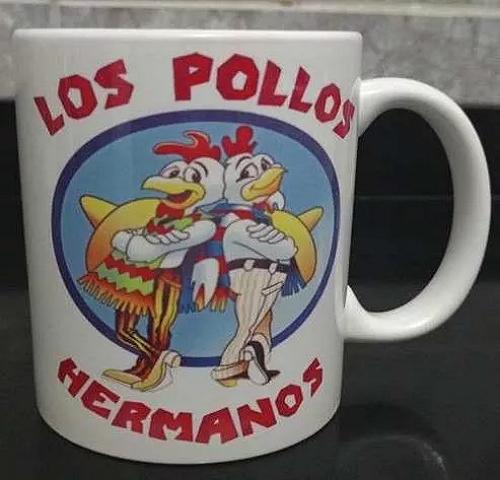 Caneca Cerâmica Los Pollos Hermanos