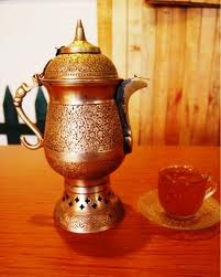 kahwa from samovar