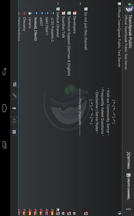 teamspeak 3 apk android